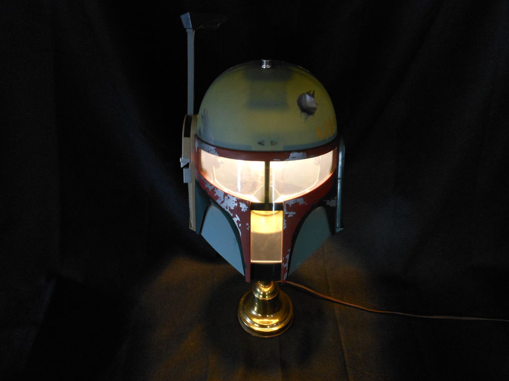 boba fett lamp. Black Bedroom Furniture Sets. Home Design Ideas